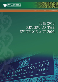 The 2013 Review of the Evidence Act 2006 - Report 127 - Cover